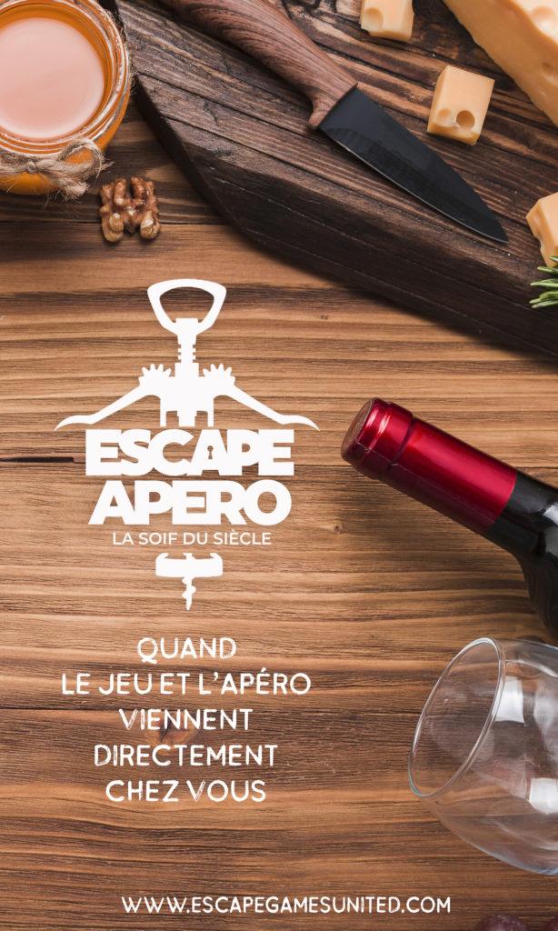 Escape Apéro, la soif du siècle
